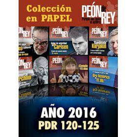 Colección Peón de Rey 2016