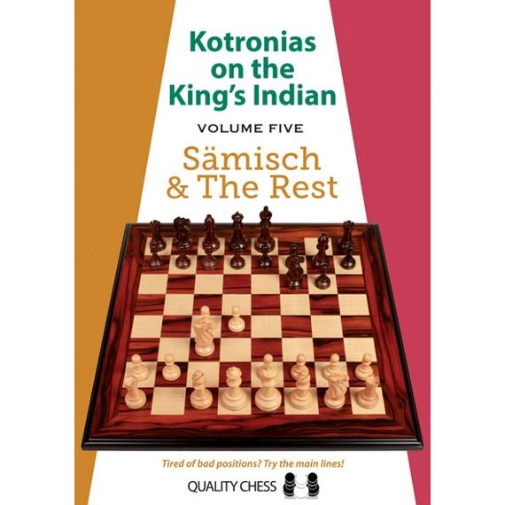 Kotronias on the King's Indian vol. 5 - Sämisch & the Rest (cartoné)