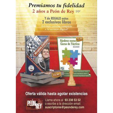 España 2 años papel + 2 libros + digital