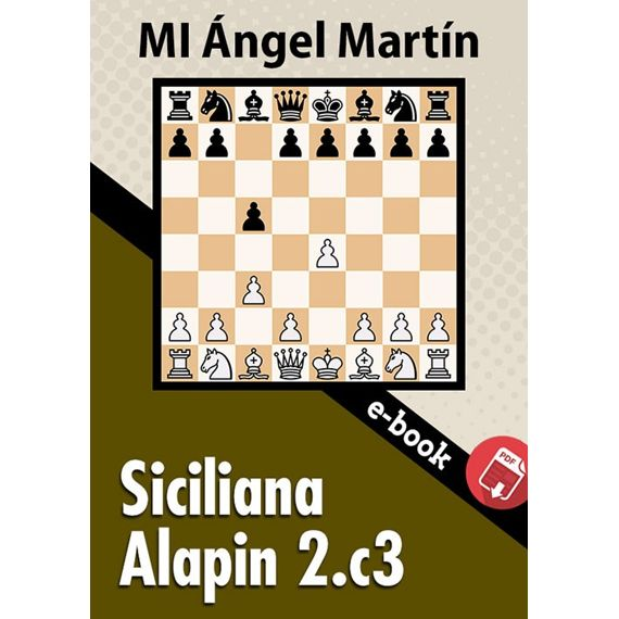 Ebook: Siciliana Alapin 2.c3