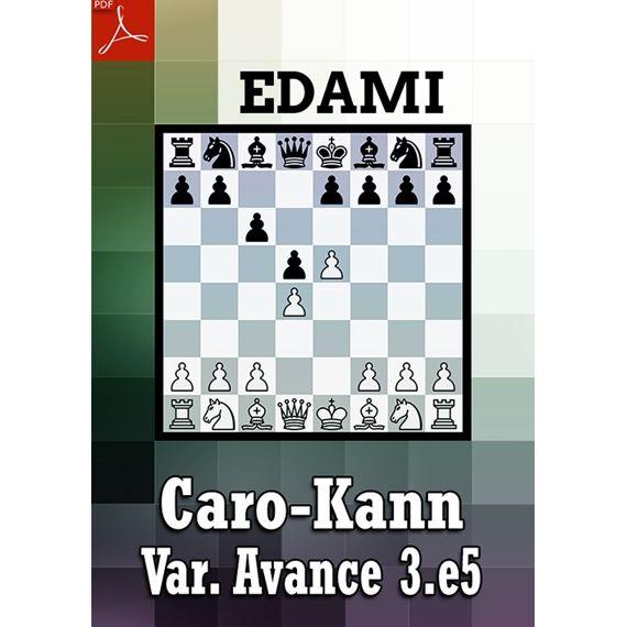 Ebook: Defensa Caro-Kann - variante del Avance 3.e5