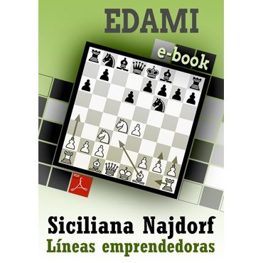 Ebook: Siciliana Najdorf - Líneas emprendedoras
