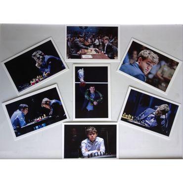 "Conjunto Postales ""Maguns Carlsen"""