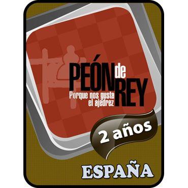España 2 años Suscripción Peón de Rey + regalo