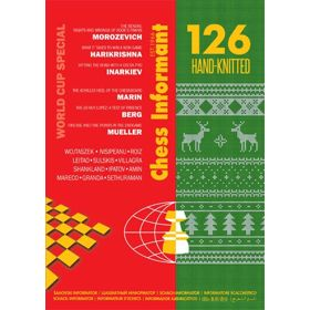 Chess Informant 126 Hand-Knitted