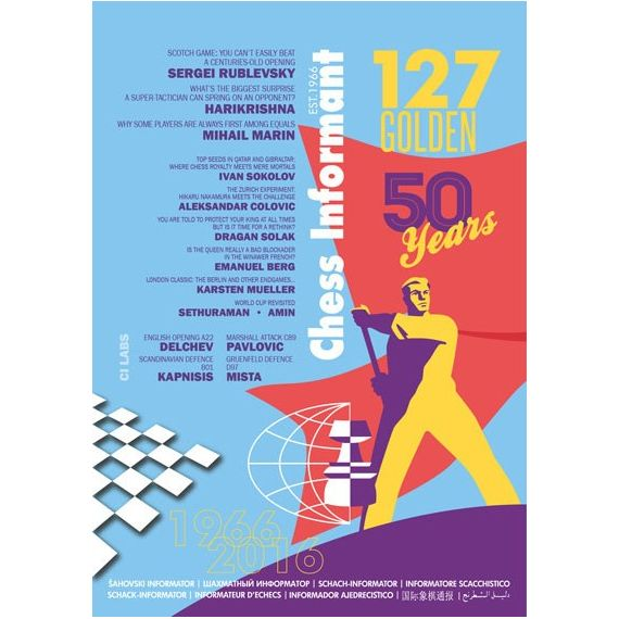 Chess Informant 127 Golden