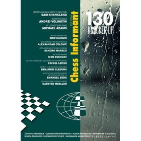 Chess Informant 130 Knocker-Up + CD