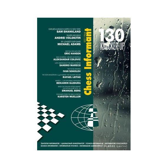 Chess Informant 130 Knocker-Up + CD