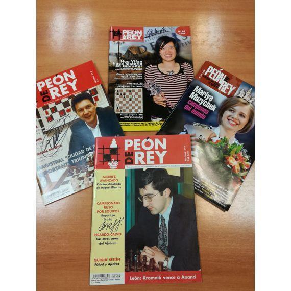 Revista Peón de Rey firmada
