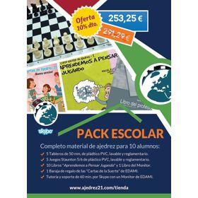 Pack actividad escolar