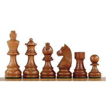 """Piezas madera plomadas Staunton """"German Knight Acacia"""" nº 4"""