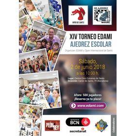 Inscripción Torneo Escolar EDAMI 2018