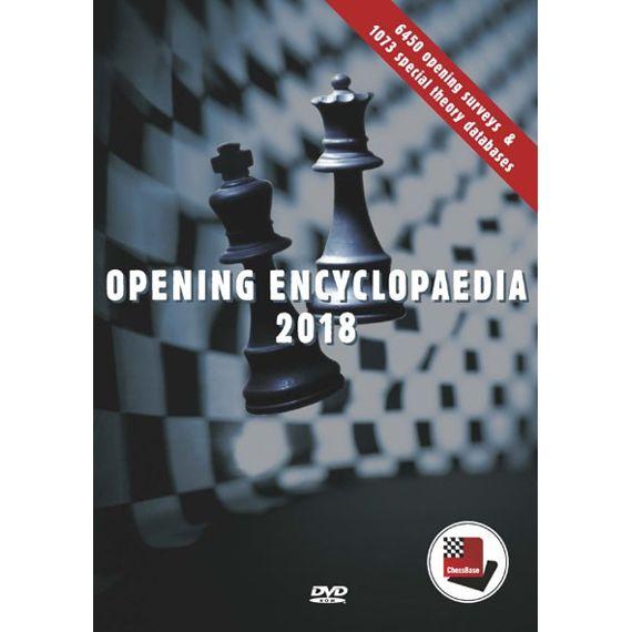 Opening Encyclopaedia 2018 actualización desde 2017