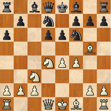 Siciliana Najdorf 6.Ag5 ...Cbd7