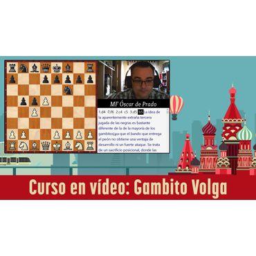 Curso vídeo Gambito Volga