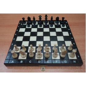 Juego de madera Plegable Magnético (negro)