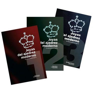 Pack Joyas del ajedrez moderno (3 tomos)