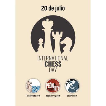 """PDF """"Día Internacional del Ajedrez"""""""