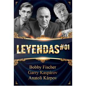 """PDF """"Leyendas del ajedrez"""" (vol. 01)"""