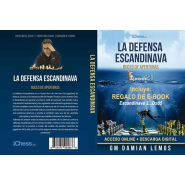 Curso vídeo Defensa Escandinava