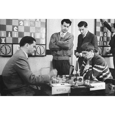 """Piezas boj ebanizado nº 6 """"Zagreb '59"""""""