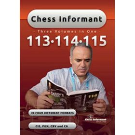Chess Informants 113-115 CD