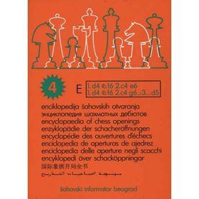 Enciclopedia de Aperturas - Volumen E 4ª ed.
