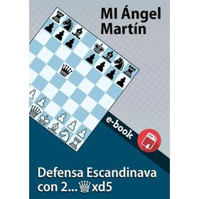 Ebook: Escandinava 2...Dxd5