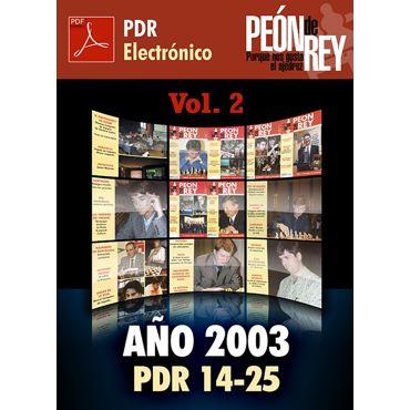 Peón de Rey electrónico - Vol. 2 (2003)