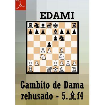 Ebook: Gambito de Dama rehusado - Variante 5.Af4