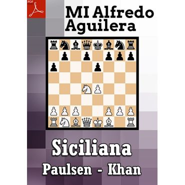 Ebook: Defensa Siciliana, Paulsen - Khan