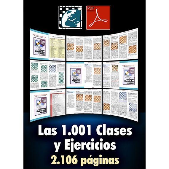Las Mil y una clases y ejercicios de ajedrez