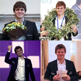 "Postal ""Carlsen Collage"""