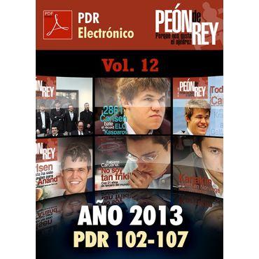 Peón de Rey electrónico - Vol. 12 (2013)