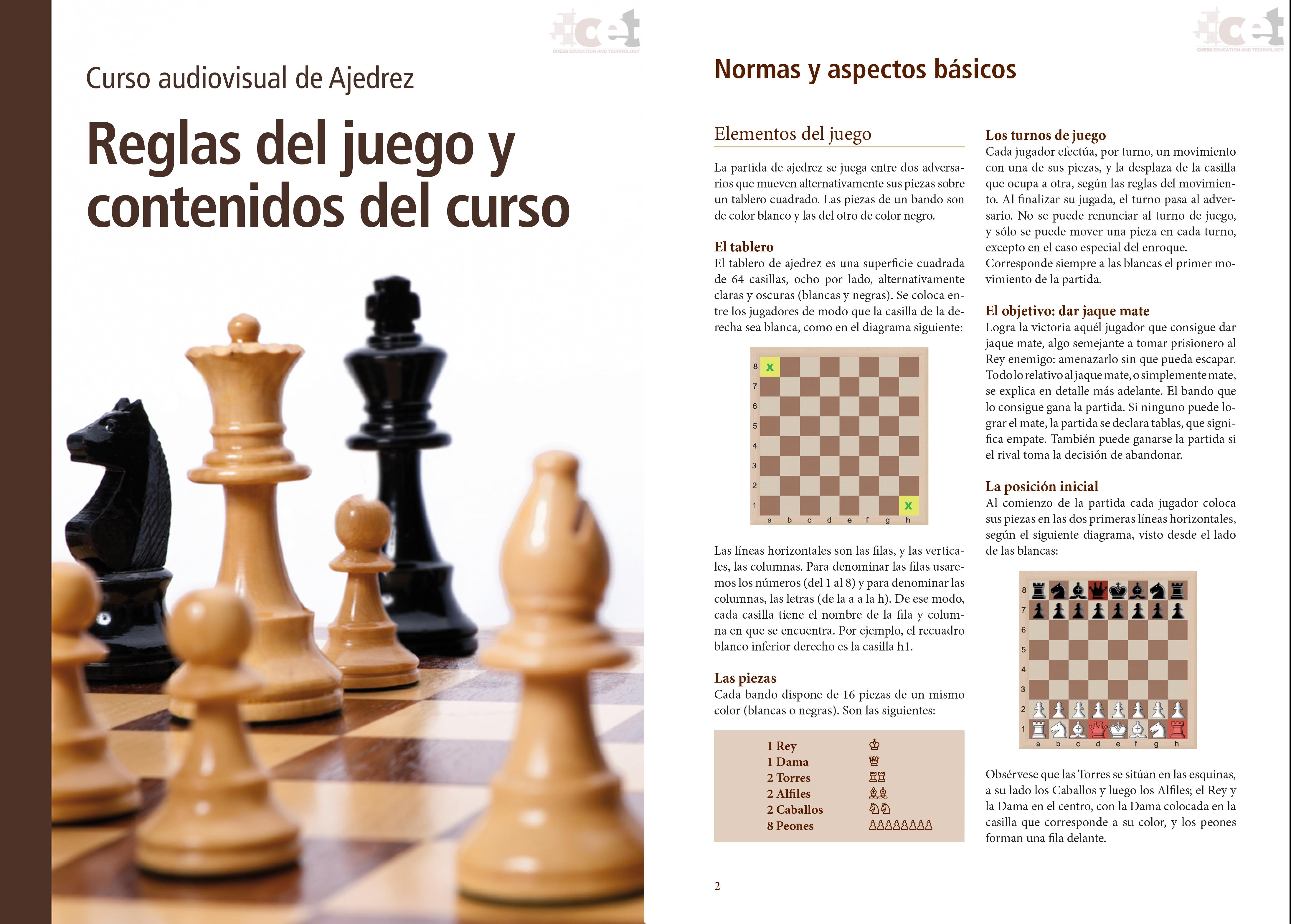 Curso ajedrez Illescas en PDF