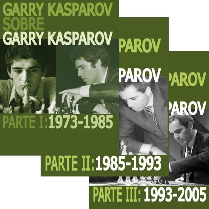 Pack Garry Kasparov sobre Garry Kasparov (3 tomos)
