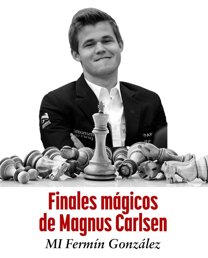 Curso vídeo Finales Mágicos de Magnus Carlsen