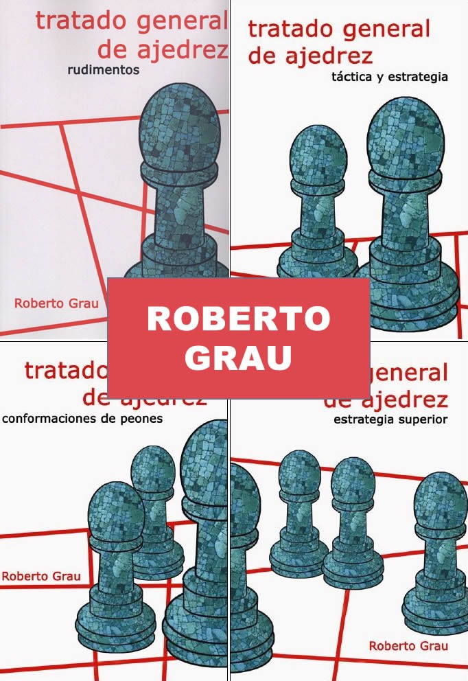 Tratado General de Ajedrez Grau (4 tomos)