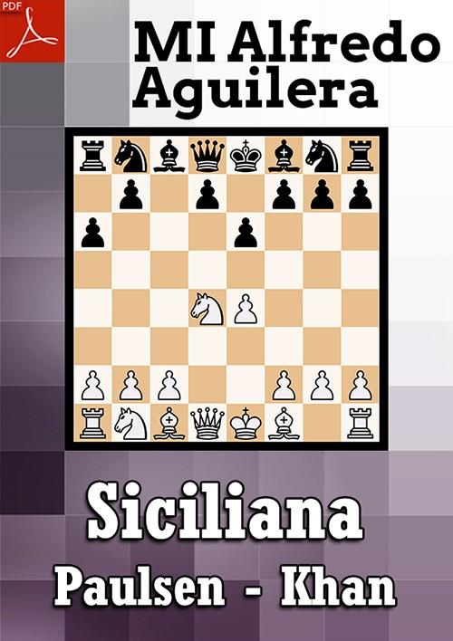 Ebook: Defensa Siciliana, Paulsen - Khan