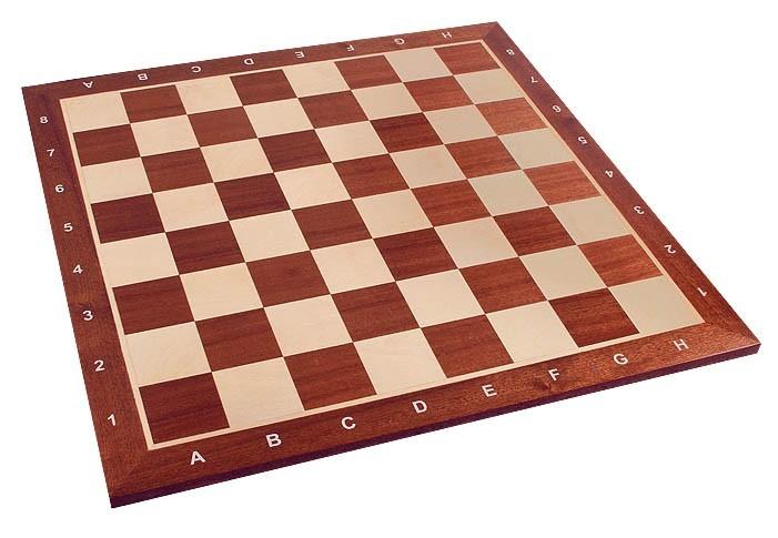 Tablero caoba 58 mm (con notación)